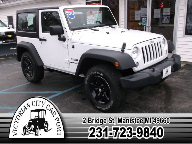 2017 Jeep Wrangler for sale at Victorian City Car Port INC in Manistee MI