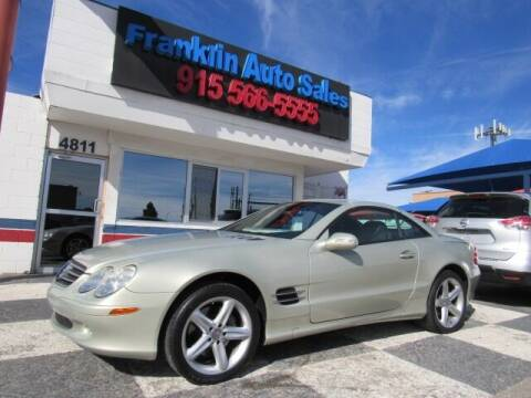2003 Mercedes-Benz SL-Class for sale at Franklin Auto Sales in El Paso TX
