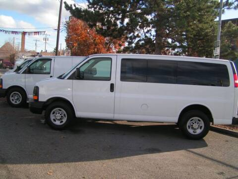 2011 Chevrolet Express Passenger for sale at Common Sense Motors in Spokane WA