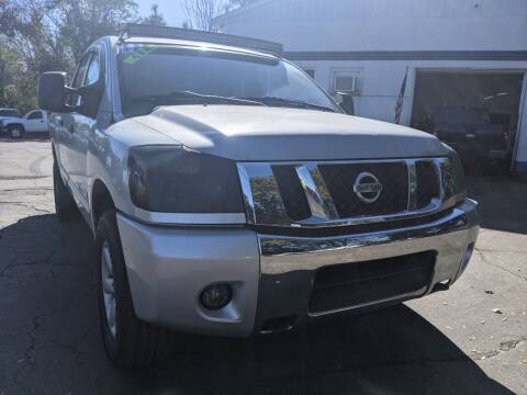 2011 Nissan Titan for sale at GREAT DEALS ON WHEELS in Michigan City IN
