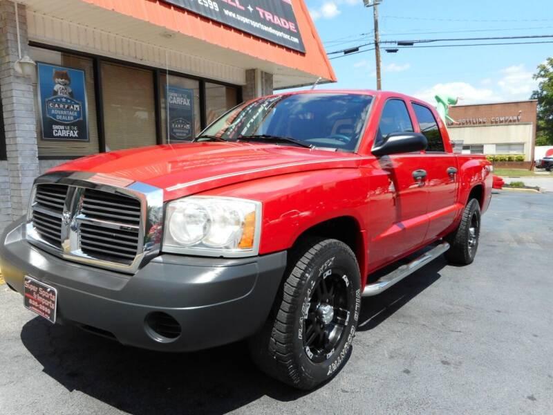 2006 Dodge Dakota for sale at Super Sports & Imports in Jonesville NC