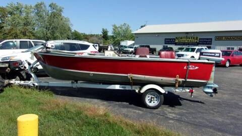 1993 LUND 16 FT for sale at North Star Auto Mall in Isanti MN