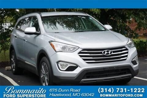 2016 Hyundai Santa Fe for sale at NICK FARACE AT BOMMARITO FORD in Hazelwood MO