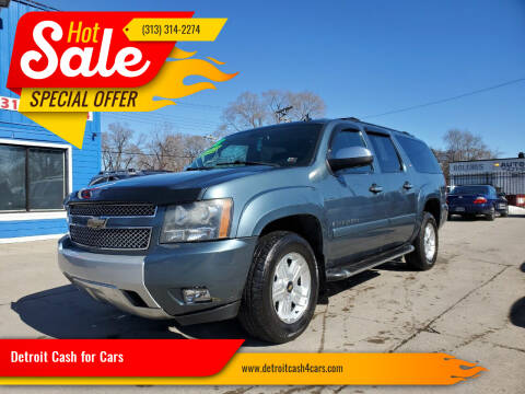 2008 Chevrolet Suburban for sale at Detroit Cash for Cars in Warren MI