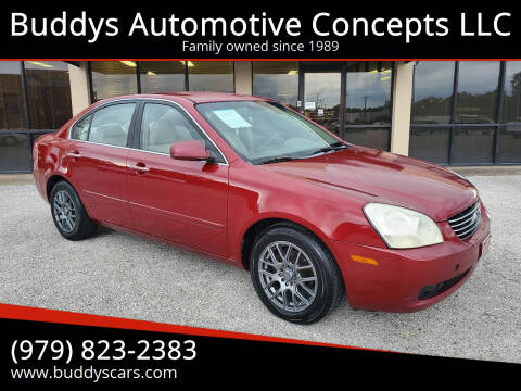 2007 Kia Optima for sale at Buddys Automotive Concepts LLC in Bryan TX