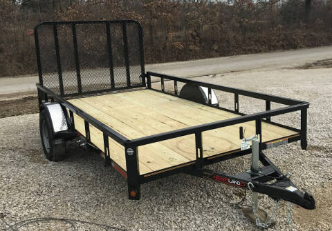 """2019 Heartland 76""""x12' utility for sale at Gaither Powersports & Trailer Sales in Linton IN"""