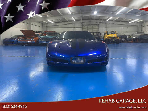 1999 Chevrolet Corvette for sale at Rehab Garage, LLC in Tomball TX