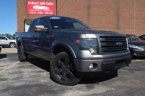 2014 Ford F-150 for sale at Hobart Auto Sales in Hobart IN