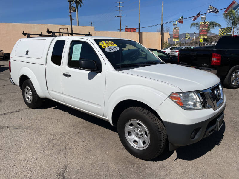 2015 Nissan Frontier for sale at JR'S AUTO SALES in Pacoima CA