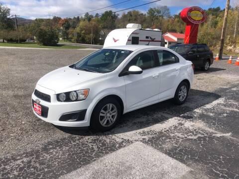 2014 Chevrolet Sonic for sale at DAN KEARNEY'S USED CARS in Center Rutland VT