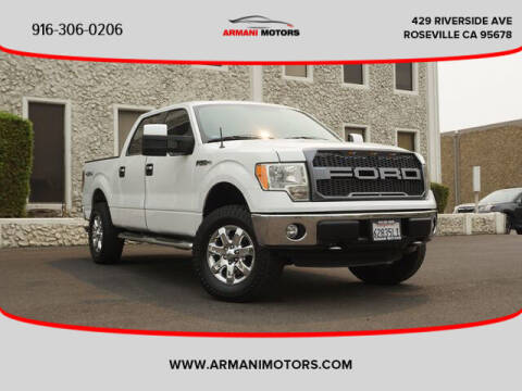 2013 Ford F-150 for sale at Armani Motors in Roseville CA