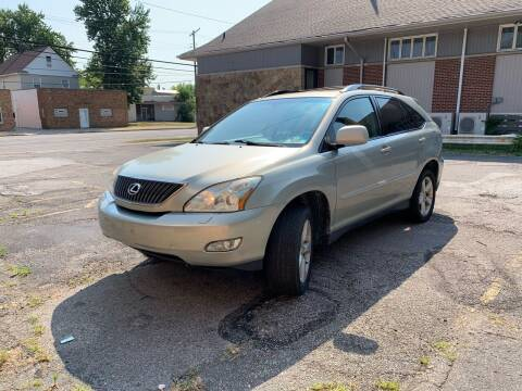 2006 Lexus RX 330 for sale at USA AUTO WHOLESALE LLC in Cleveland OH