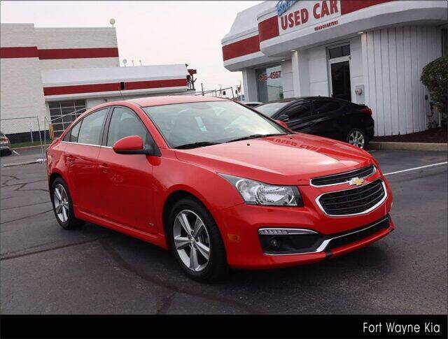 2016 Chevrolet Cruze Limited for sale at BOB ROHRMAN FORT WAYNE TOYOTA in Fort Wayne IN