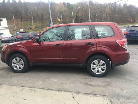 2009 Subaru Forester for sale at Edward's Motors in Scott Township PA
