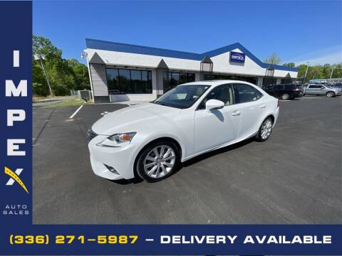 2015 Lexus IS 250 for sale at Impex Auto Sales in Greensboro NC