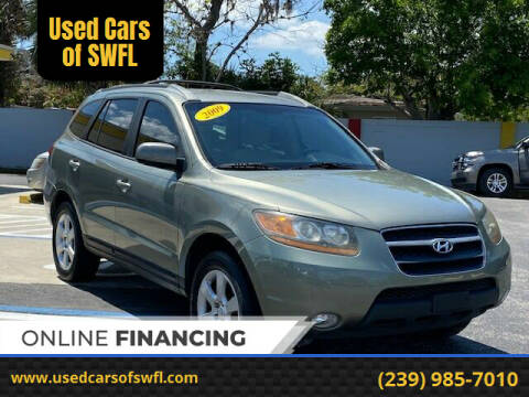 2009 Hyundai Santa Fe for sale at Used Cars of SWFL in Fort Myers FL