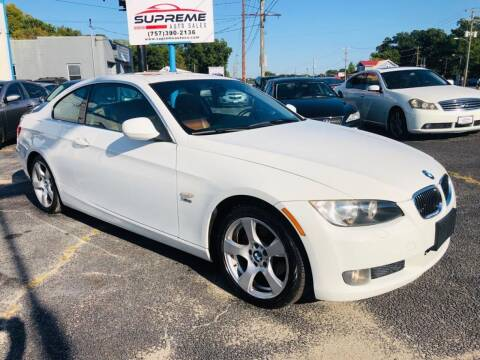 2010 BMW 3 Series for sale at Supreme Auto Sales in Chesapeake VA