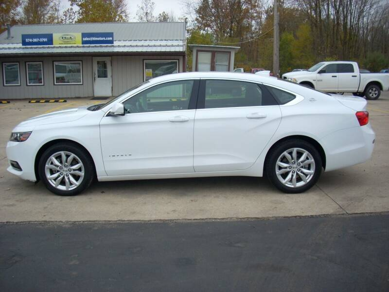 2020 Chevrolet Impala for sale at H&L MOTORS, LLC in Warsaw IN