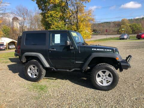 2010 Jeep Wrangler for sale at Brush & Palette Auto in Candor NY