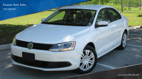2011 Volkswagen Jetta for sale at Carpros Auto Sales in Largo FL