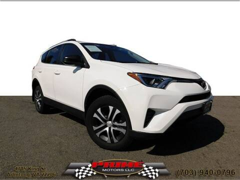 2017 Toyota RAV4 for sale at PRIME MOTORS LLC in Arlington VA