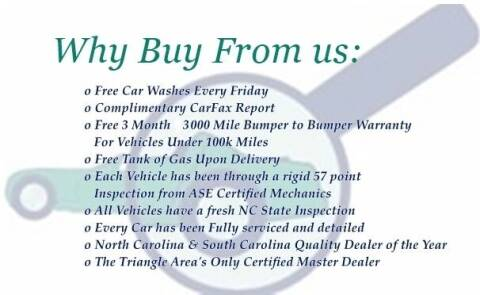 2008 Toyota Sienna for sale at THE AUTO FINDERS in Durham NC