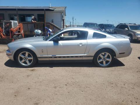 2009 Ford Mustang for sale at PYRAMID MOTORS - Fountain Lot in Fountain CO