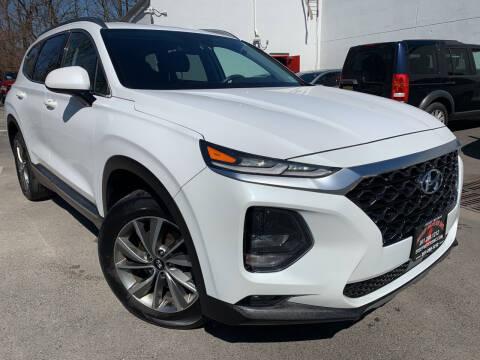 2019 Hyundai Santa Fe for sale at JerseyMotorsInc.com in Teterboro NJ