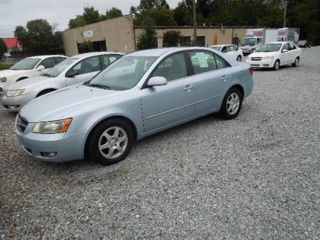 2006 Hyundai Sonata for sale at Wheels & Deals Smithfield Inc. in Smithfield NC