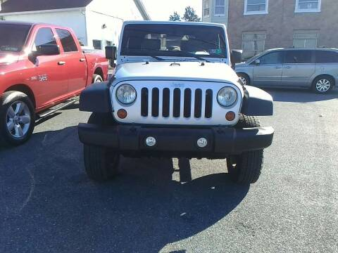 2010 Jeep Wrangler for sale at Paul's Auto Inc in Bethlehem PA