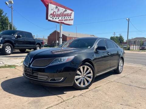 2013 Lincoln MKS for sale at Southwest Car Sales in Oklahoma City OK