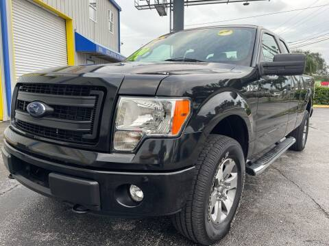 2013 Ford F-150 for sale at RoMicco Cars and Trucks in Tampa FL