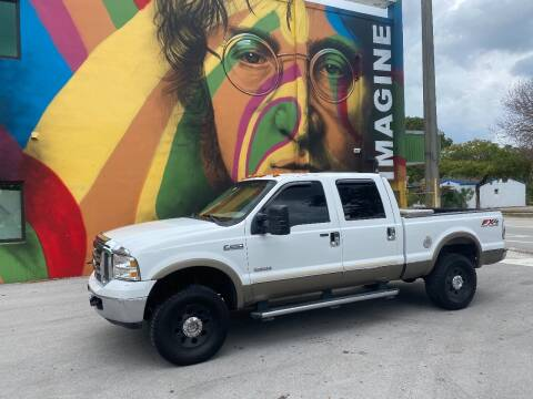 2005 Ford F-250 Super Duty for sale at BIG BOY DIESELS in Fort Lauderdale FL