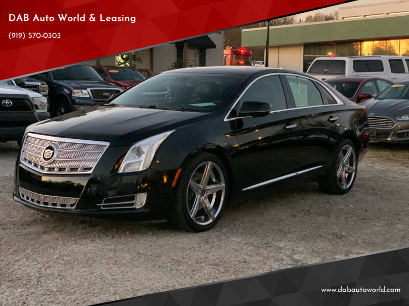2013 Cadillac XTS for sale at DAB Auto World & Leasing in Wake Forest NC