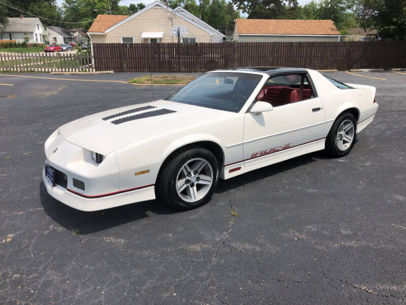 1987 Chevrolet Camaro for sale at CPM Motors Inc in Elgin IL