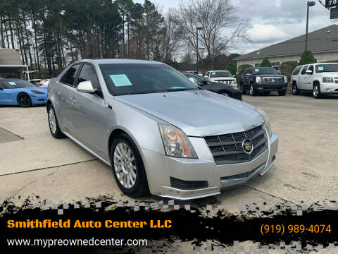 2011 Cadillac CTS for sale at Smithfield Auto Center LLC in Smithfield NC