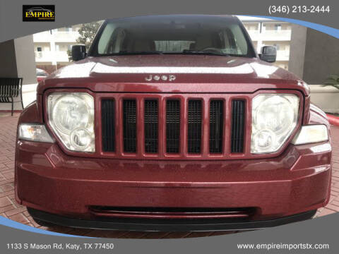 2008 Jeep Liberty for sale at EMPIREIMPORTSTX.COM in Katy TX