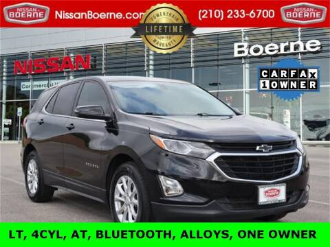 2018 Chevrolet Equinox for sale at Nissan of Boerne in Boerne TX