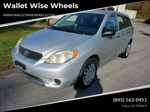 2006 Toyota Matrix for sale at Wallet Wise Wheels in Montgomery NY