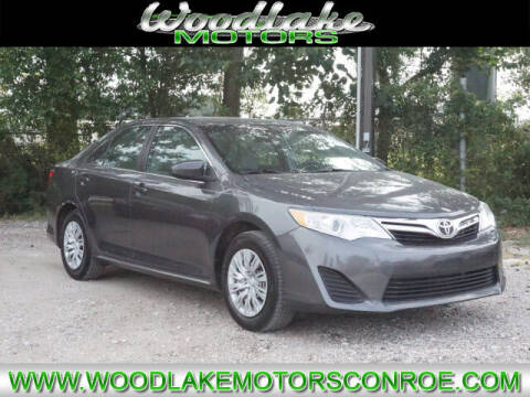 2012 Toyota Camry for sale at WOODLAKE MOTORS in Conroe TX