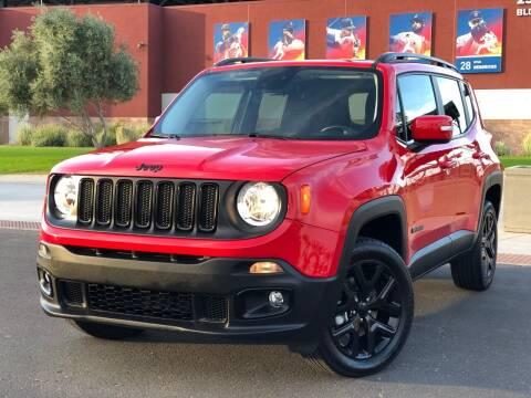 2017 Jeep Renegade for sale at AKOI Motors in Tempe AZ