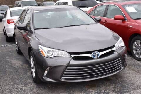 2017 Toyota Camry Hybrid for sale at BOB ROHRMAN FORT WAYNE TOYOTA in Fort Wayne IN