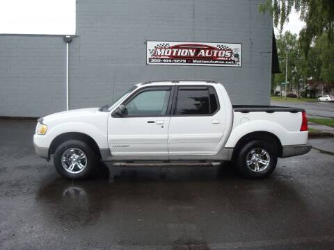 2001 Ford Explorer Sport Trac for sale at Motion Autos in Longview WA