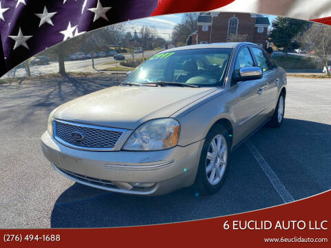 2005 Ford Five Hundred for sale at 6 Euclid Auto LLC in Bristol VA