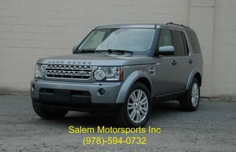 2012 Land Rover LR4 for sale at Salem Motorsports in Salem MA