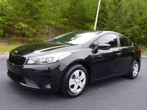 2017 Kia Forte for sale at RUSTY WALLACE KIA OF KNOXVILLE in Knoxville TN