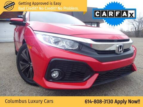 2017 Honda Civic for sale at Columbus Luxury Cars in Columbus OH