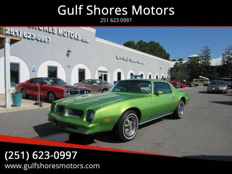 1976 Pontiac Firebird for sale at Gulf Shores Motors in Gulf Shores AL