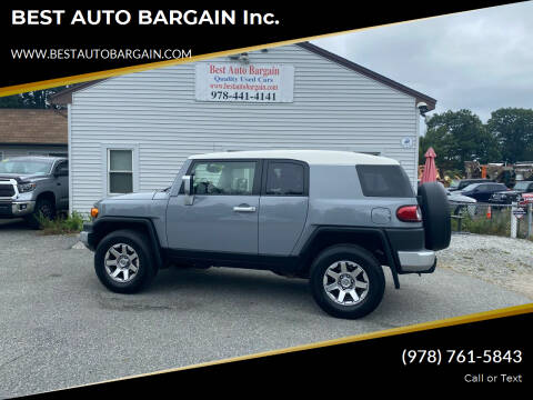 2014 Toyota FJ Cruiser for sale at BEST AUTO BARGAIN inc. in Lowell MA