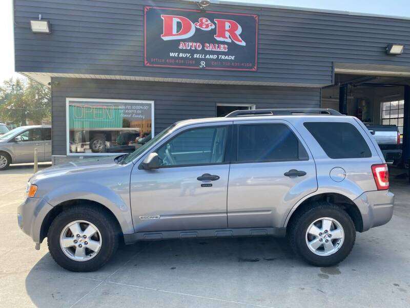2008 Ford Escape for sale at D & R Auto Sales in South Sioux City NE